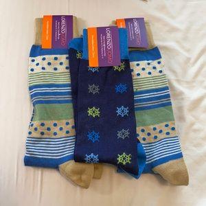Lorenzo Uomo Italian Cotton Socks